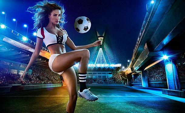 Креативный календарь по футболу 2014 года